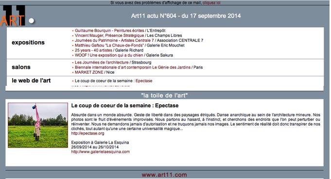 EPECTASE Art11 n°604 17-09-2014