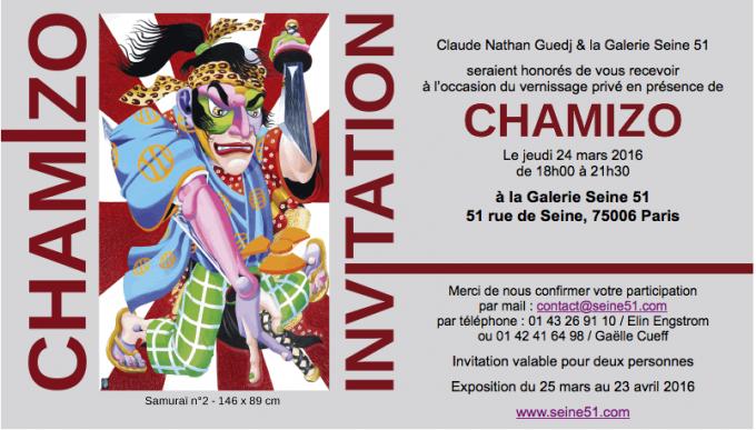 Invitation Chamizo